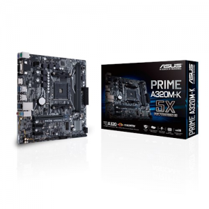 Asus MotherBoard PRIME-A320M-K For AMD RYZEN
