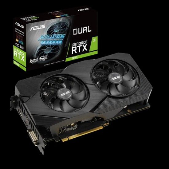 Asus Nvidia GeForce RTX2060 6GB DDR6 DUAL-RTX2060-A6G Deltapage.com