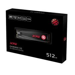XPG GAMMIX S5 512GB PCIe Gen3x4 M.2 2280 SSD 3D TLC AGAMMIXS5-512GT-C