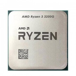 AMD Ryzen 3 3200G with Radeon RX Vega 8 Graphics OEM Pack With Stock FAN