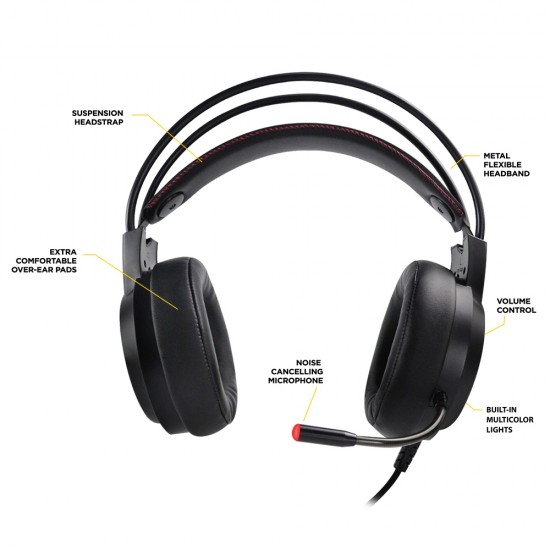 Ant Esports H707 HD RGB LED Gaming Headset Deltapage.com