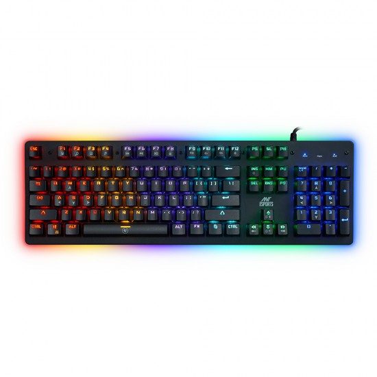Ant Esports MK3000 Mechanical RGB Gaming Keyboard Deltapage.com