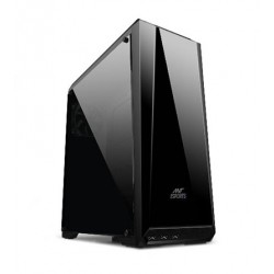 Ant Esports ICE 100TG Mid Tower Gaming Cabinet With 1 Rear Fan
