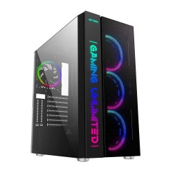 Ant Esports ICE-511MAX Mid Tower Gaming Cabinet  3 Front and 1 Rear Fan
