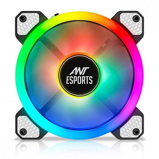 Ant Esports Superflow 120 Auto RGB V2 1200 RPM Case Fan