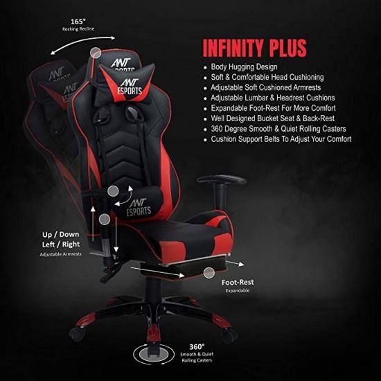 Ant Esports Infinity Plus (Red Black)