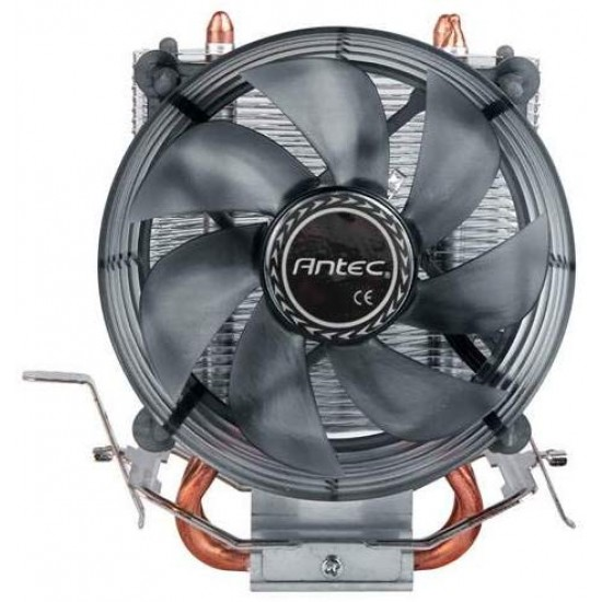Antec Cpu Cooler A30 With 2 Copper Pipes, 120mm LED FAN Deltapage.com