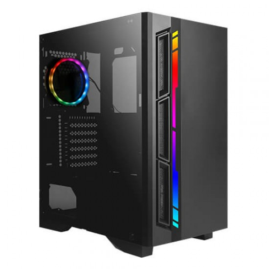 Antec Mid-Tower Case NX400 ARGB Led, 1 * 120 MM  Cooler Deltapage.com