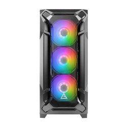 Antec Mid-Tower Case DF600 ARGB Led, 3 * 120 MM  ARGB Cooler + 2 * 120 MM Cooler