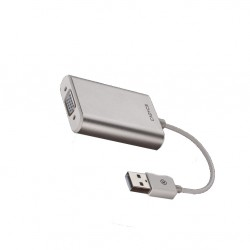 Cadyce USB 2.0 VGA Display Adapter Supports up to 1080p Full HD Supports for Mac O/S CA-U2VGA