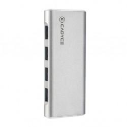 Cadyce USB 3.0 4-port Hub with power adapter CA-U34H