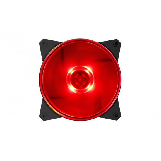 Cooler Master Case Cooler MF120L Red LED R4-C1DS-12FR-R1 Deltapage.com