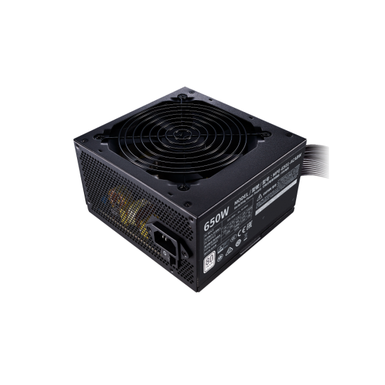Cooler Master SMPS MWE 650 W 80+ White MPE-6501-ACABW-IN Deltapage.com