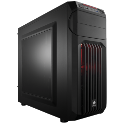 Corsair Cabinet CC-9011050-WW MID-TOWER CARBIDE SERIES SPEC-01 RED LED