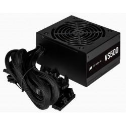 Corsair SMPS VS500 CP-9020223-IN 500 Watt 80 PLUS Certified Non-Modular ATX PSU
