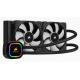Corsair CPU Liquid Cooler Hydro Series H100i PRO RGB 240mm CW-9060033-WW Deltapage.com