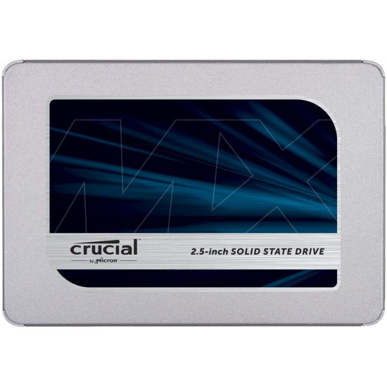 "Crucial 2 TB MX500  SATA 2.5"" SSD CT2000MX500SSD1 Deltapage.com"