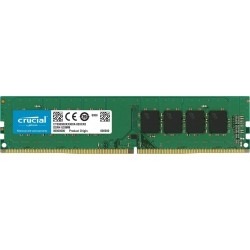 Crucial 4GB DDR4 2400 MHz PC4-19200 Desktop RAM CT4G4DFS824A