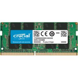 Crucial 16GB DDR4 2666 MHz SODIMM Laptop & NUC RAM CT16G48FD8266