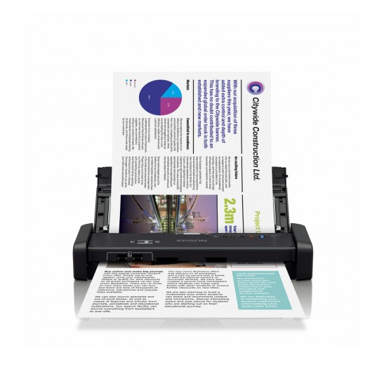 Epson WorkForce DS-310 Portable Sheet-fed Document Scanner Deltapage.com