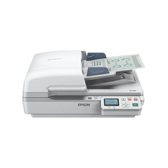 Epson WorkForce DS-6500 Color Document Scanner Deltapage.com