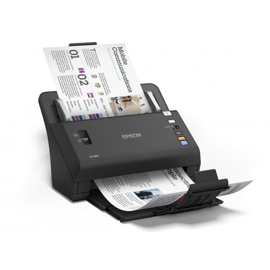 Epson WorkForce DS-860 Color Document Scanner Deltapage.com