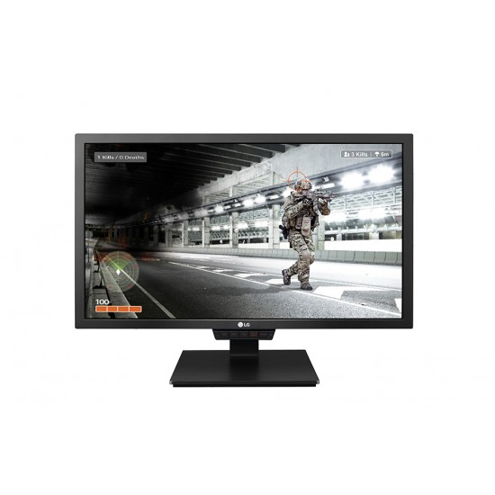 "LG 24"" Gaming Monitor 24GM79G TN Panel FHD 1920*1080 1ms 144 Hz Free-sync With HDMi DP VGA USB Ports Deltapage.com"