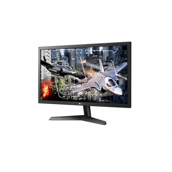 "LG 24"" 24GL600F-B Class UltraGear Gaming Monitor 1ms 144 Hz Free-sync Deltapage.com"