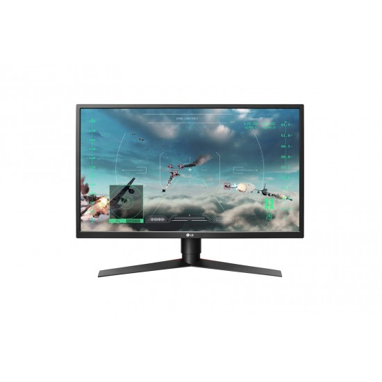 """LG 27"""" Gaming Monitor 27GK750F TN Panel FHD 1920*1080 2ms 240Hz Free-sync With HDMi DP Ports Deltapage.com"""