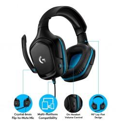 Logitech G431 7.1 Surround Sound Gaming Headset 981-000774