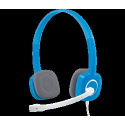 Logitech H150 Stereo Headset Blue 981-000454