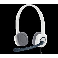 Logitech H150 Stereo Headset White 981-000453