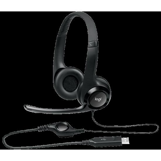 Logitech H390 USB Headset 981-000485