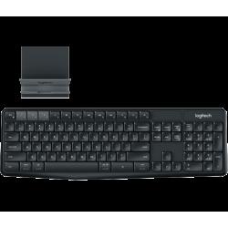 Logitech K375S Multi-Device Wireless Keyboard and Stand Combo 920-008250