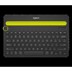 Logitech K480 Bluetooth Multi-Device Keyboard With Dock Black