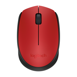 Logitech M171 Wireless Mouse Red 910-004657