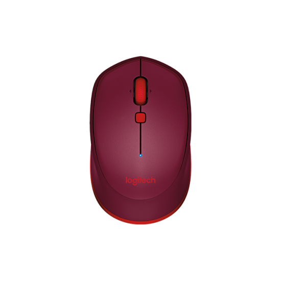 Logitech M337 Bluetooth Mouse Red 910-004535