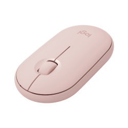 Logitech Pebble M350 Slim Wireless Mouse Rose 910-005601