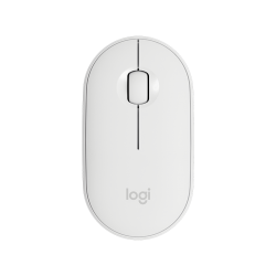 Logitech Pebble M350 Slim Wireless Mouse White 910-005600