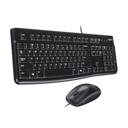 Logitech MK120 Wired Keyboard and Mouse Combo 920-002586