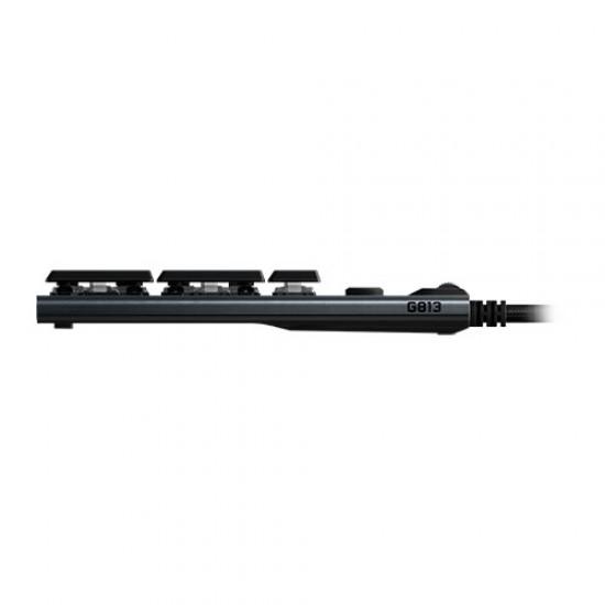 Logitech G813 Lightsync RGB Mechanical Gaming Keyboard Tactile 920-008995