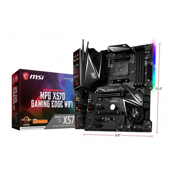 MSI MotherBoard MPG X570 GAMING EDGE WIFI Deltapage.com