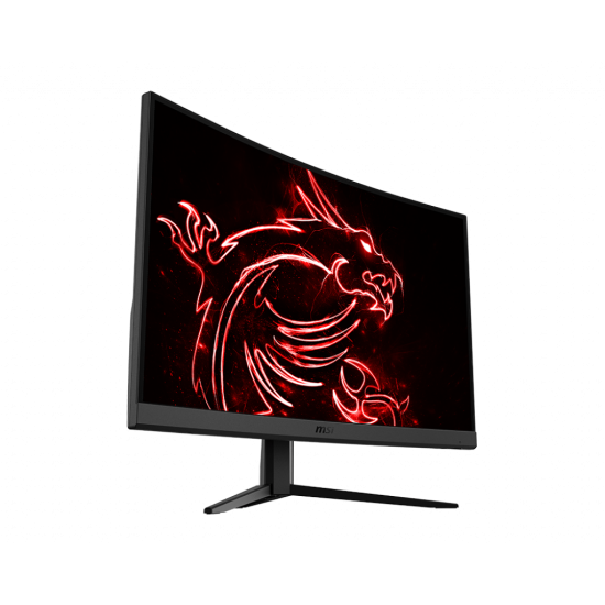 MSI OPTIX G24C4 24 Inch Curved Gaming Monitor AMD Freesync, 1MS, 144HZ, VA Panel, HDMI, DISPLAYPORT