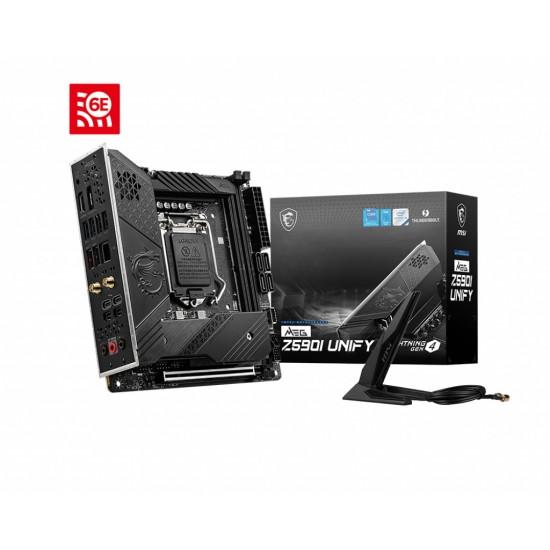 MSI Board MEG Z590I UNIFY For Intel 10th & 11th Gen  Processors