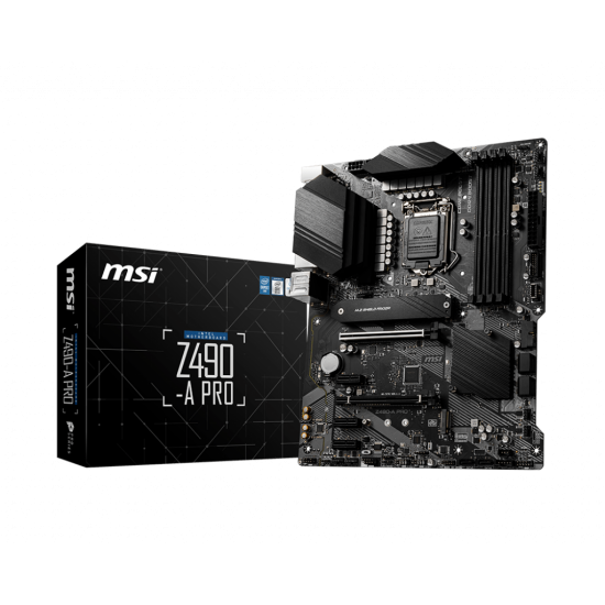 MSI MotherBoard Z490 A PRO For 10th Gen Intel Processors