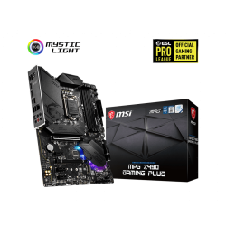 MSI MotherBoard MPG Z490 Gaming Plus