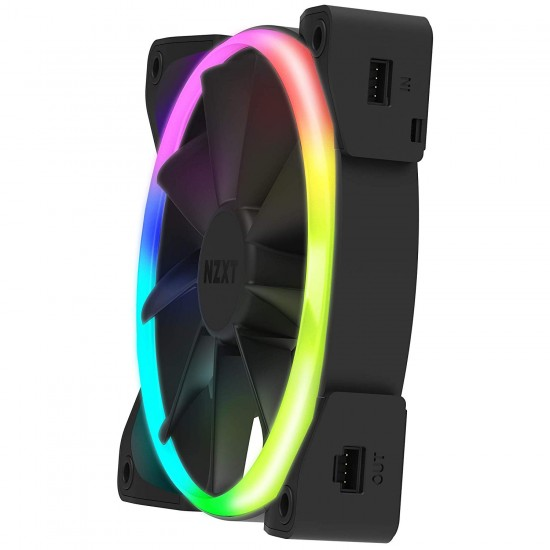 NZXT Accessories Aer RGB 2 Series 140 mm Single HF-28140-B1 Deltapage.com