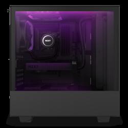 NZXT Case H510 Elite Matt Black With Tempered Glass 2 AER RGB Fans 1 ARGB LED Strip CA-H510E-B1