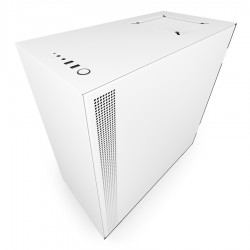NZXT Case H510 Matt White With Tempered Glass  CA-H510B-W1
