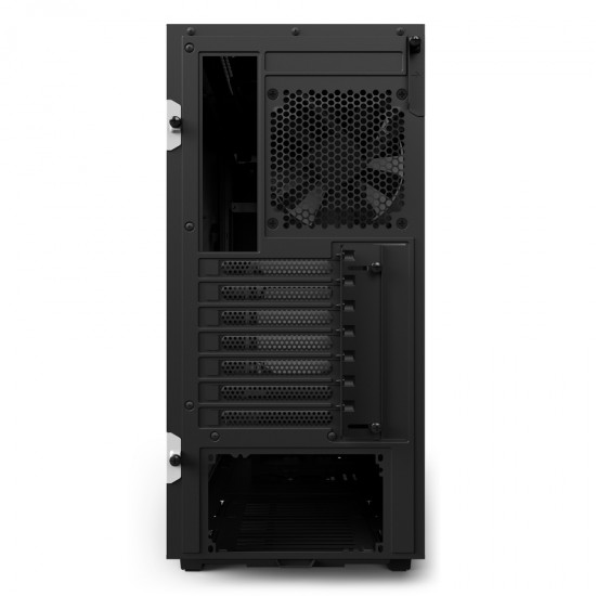 NZXT Case H510 Matt White With Tempered Glass  CA-H510B-W1 Deltapage.com